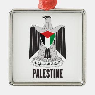 PALESTINE - emblem/flag/coat of arms/symbol Christmas Tree Ornaments