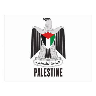 PALESTINE - emblem/flag/coat of arms/symbol Postcard