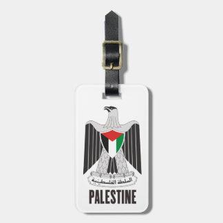 PALESTINE - emblem/flag/coat of arms/symbol Tag For Luggage