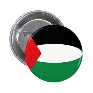 Palestine Fisheye Flag Button