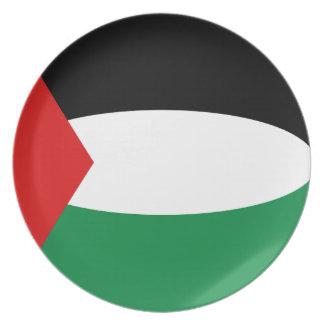 Palestine Fisheye Flag Plate