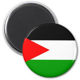Palestine Flag 2 Inch Round Magnet
