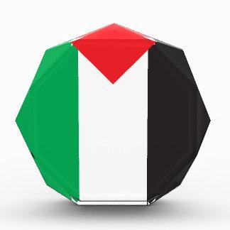 Palestine Flag Acrylic Award