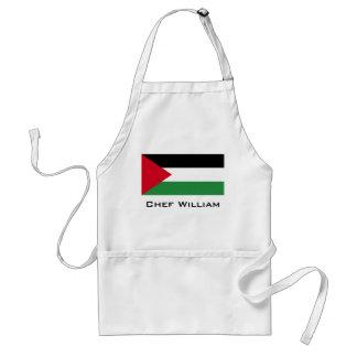 Palestine Flag Adult Apron