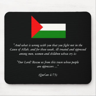 """palestine_flag, """"And what is wrong with you tha... Mouse Pad"""