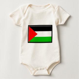Palestine Flag Baby Bodysuit