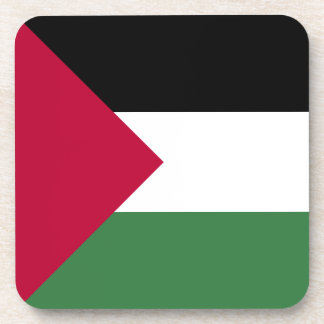 Palestine Flag Beverage Coaster