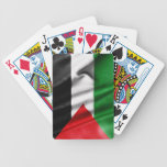 Palestine Flag Bicycle Playing Cards
