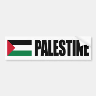 Palestine Flag Bumper Stickers
