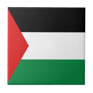 Palestine Flag Ceramic Tile