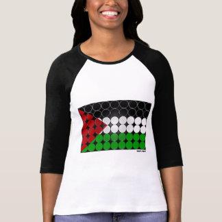 Palestine Flag Circle 2 T Shirt