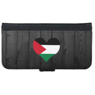 Palestine flag colored iPhone 6 wallet case