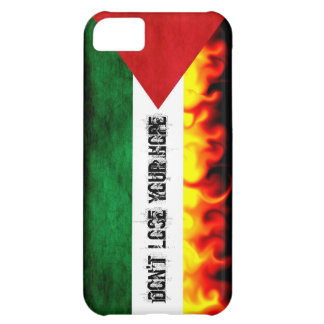 Palestine Flag (custom text) Case For iPhone 5C