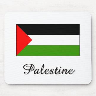 Palestine Flag Design Mouse Pad