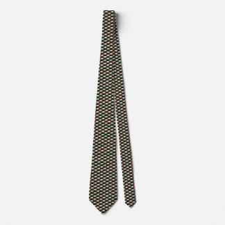 Palestine Flag Honeycomb Tie