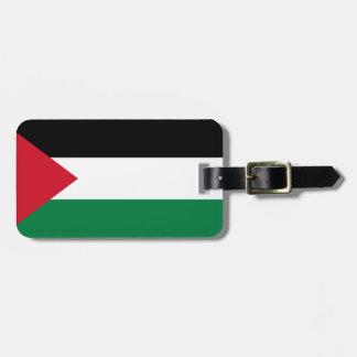 Palestine Flag Bag Tag