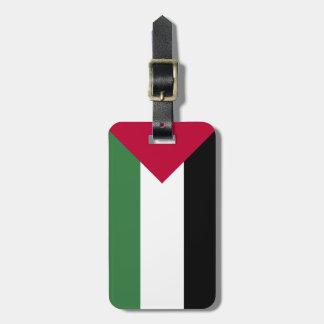 Palestine Flag Travel Bag Tags