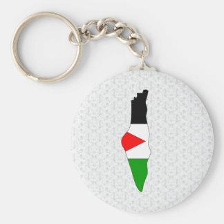 Palestine Flag Map full size Key Chains