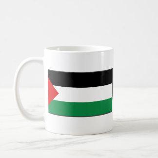 Palestine Flag ~ Map Mug