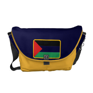 Palestine flag messenger bag