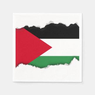 Palestine Flag Napkin
