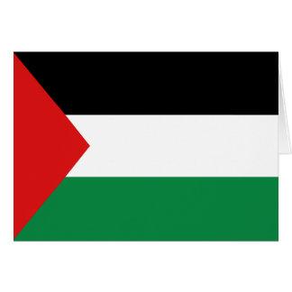 Palestine Flag Notecard