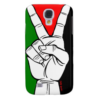 PALESTINE FLAG PEACE SIGN SAMSUNG GALAXY S4 COVER