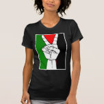 PALESTINE FLAG PEACE SIGN T SHIRTS