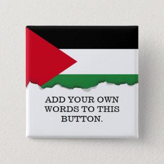 Palestine Flag Pinback Button
