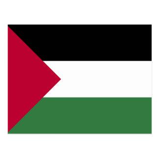 Palestine Flag Postcard