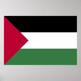 Palestine Flag Print