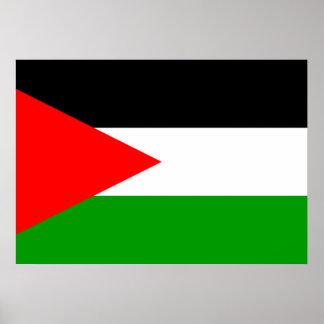 Palestine Flag Poster