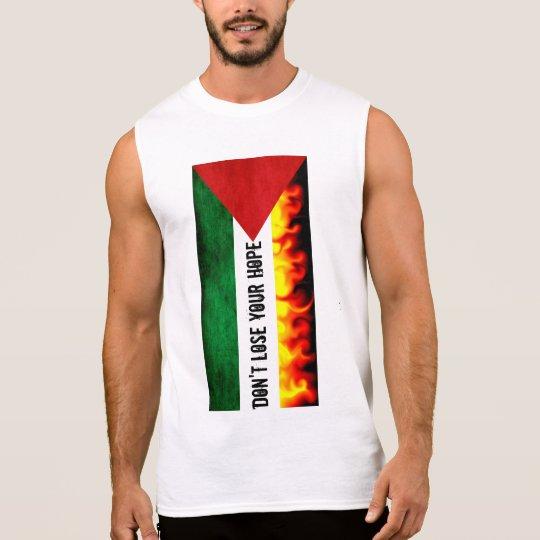 Palestine Flag Sleeveless Shirt