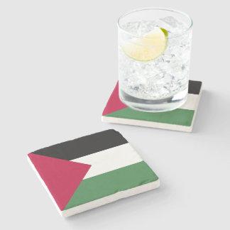 Palestine Flag Stone Coaster