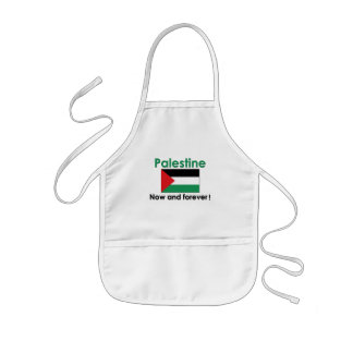 Palestine Forever (Green) Kids' Apron