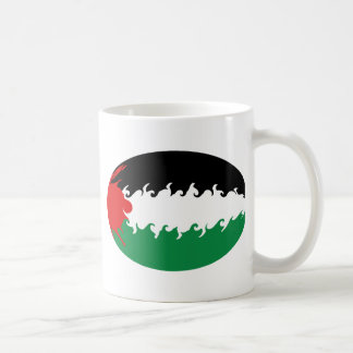 Palestine Gnarly Flag Mug