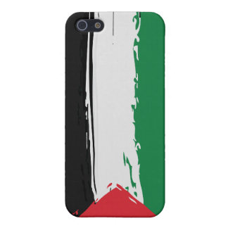 Palestine Grunge Flag iPhone case