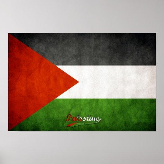 Palestine Grunge Poster