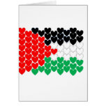 Palestine hearts card