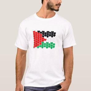PALESTINE HEARTS T-Shirt