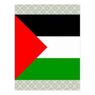 Palestine High quality Flag Postcards