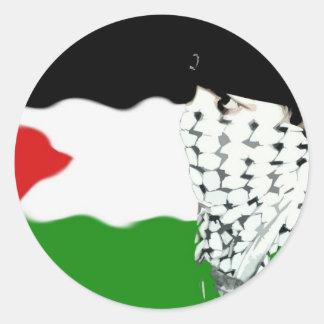Palestine Intifada Flag Sticker