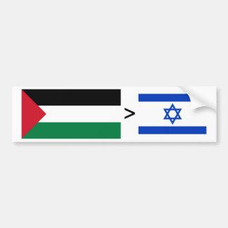 Palestine > Israel Bumper Stickers