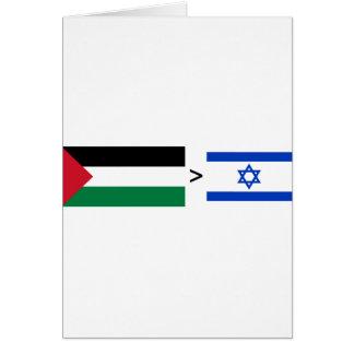 Palestine > Israel Card