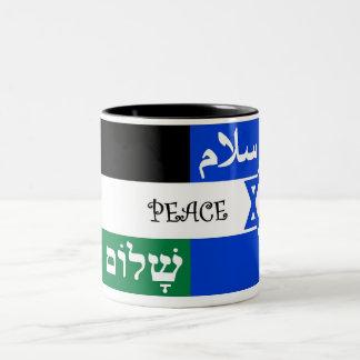 Palestine-Israel Peace Mug