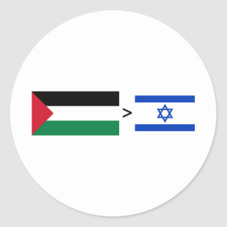 Palestine > Israel Stickers