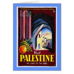 Palestine, Jerusalem Greeting Card