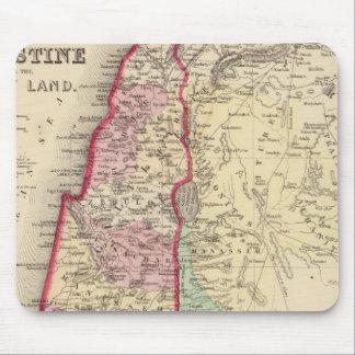 Palestine, Jerusalem Map by Mitchell Mouse Pad