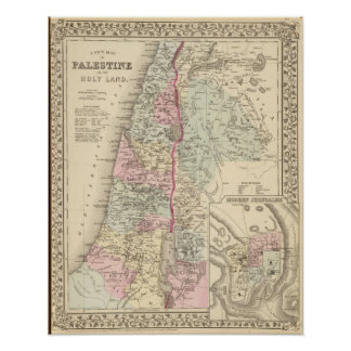 Palestine, Jerusalem Posters