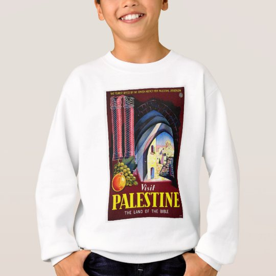 Palestine, Jerusalem Sweatshirt